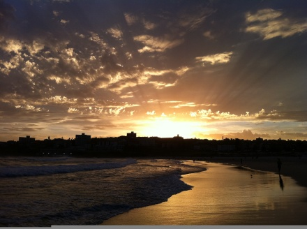 North Bondi Sunset View by Sol Walkling